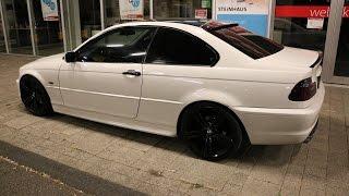BMW E46 Coupe White/Black