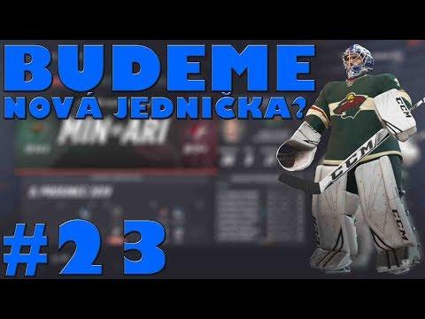 NHL 19 | KOBLIH GOLMANEM #23 | BUDEME NOVÁ JEDNIČKA!? | CZ/SK