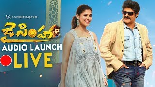 'Jai Simha' audio launch video