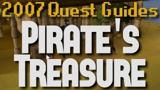 Runescape 2007 Quest Guides: Pirate's Treasure