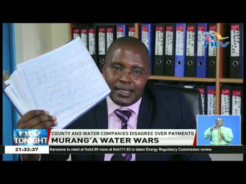 Murang'a water wars: MUWASCO MD interrogated at DCI over forgery claims