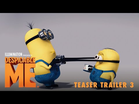 Despicable Me (Teaser 3)