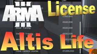 Arma 3 altis life fishing license