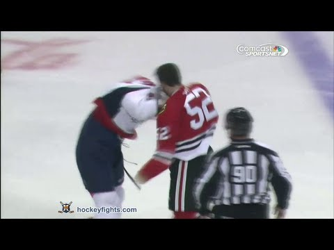 Brandon Bollig vs. Michal Cajkovsky