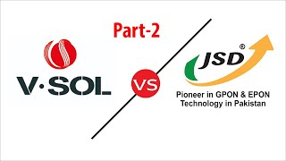 Compare V-Sol with JSD OLT Physical