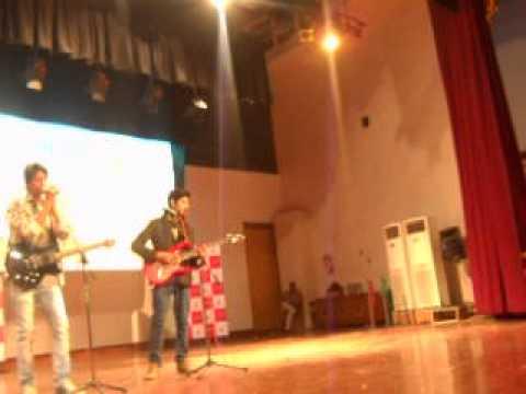 Raah the musical journey live @ kashmir unvrsty