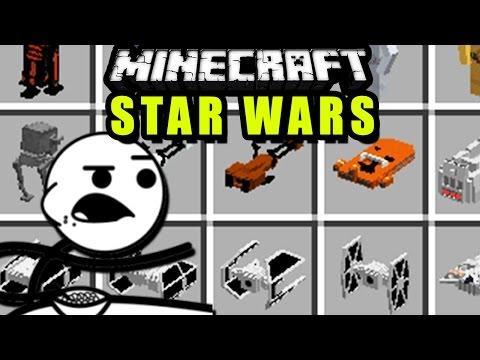 STAR WARS SUPER ÉPICO en Minecraft - Parzi's Star Wars MOD