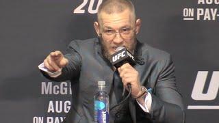 """Conor McGregor Analyzes Fight: """"You Gotta Respect Nate Diaz"""" (UFC 202)"""