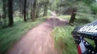 preview picture of video 'GoClever Test - Downhill Myślenice Chełm 08.2014'