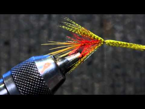 Fly tying video: The red Dabbler