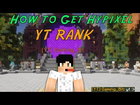 Video How to get YT rank on Hypixel | (No Subs Required) (Free)