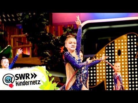 Auftritt des Jugendnationalteams der Rhythmischen Sportgymnastik | Tigerenten Club | SWR Kindernetz