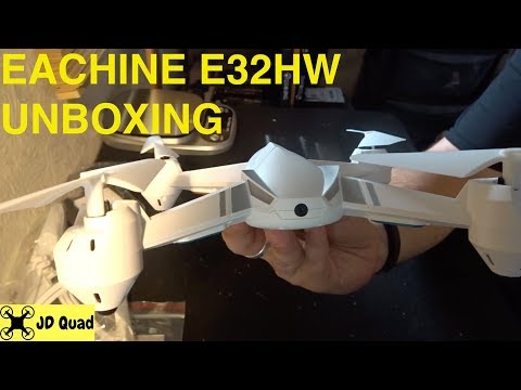 Eachine E32HW Unboxing Video - Courtesy of Banggood