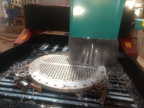 CNC Screen Plate Drilling Machine