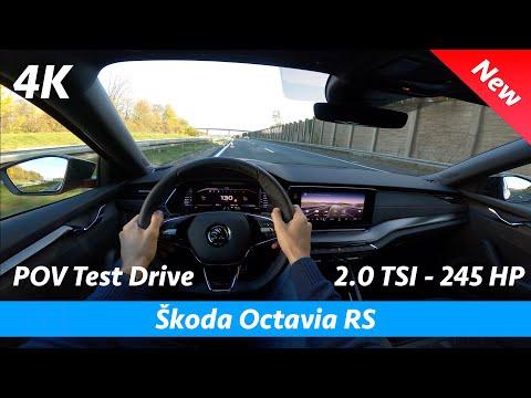 Škoda Octavia RS 2021 - FIRST FULL In-depth review in 4K | Exterior - Interior - Infotainment