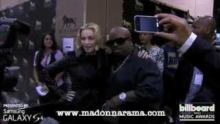 Madonna Backstage at the Billboard Music Awards [3 minutes - Full Video]