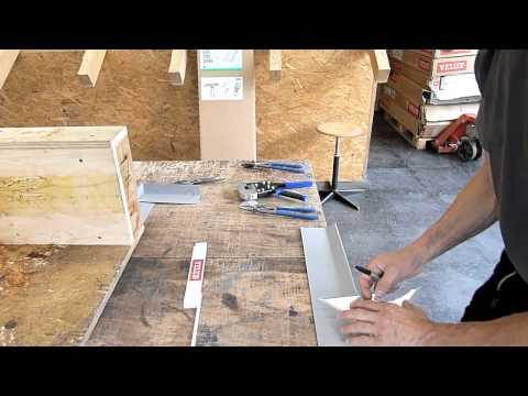 PVC Blechvorbereitung