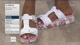 2569120e33ab Download Lagu Alegria T-Strap Slide Sandals - Vita on QVC MP3