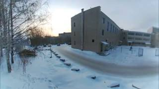 Видео 360 с коптера - первые испытания