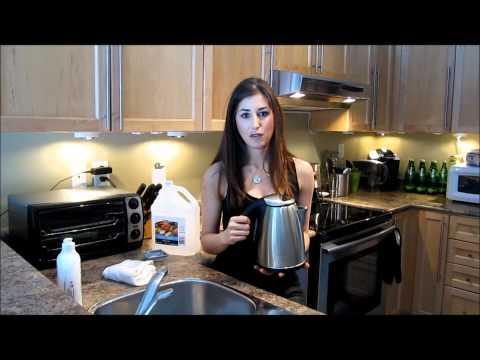 Πως να αφαλατώσετε τον βραστήρα νερού