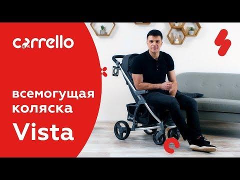 Презентация прогулочной коляски Carrello Vista CRL-8505