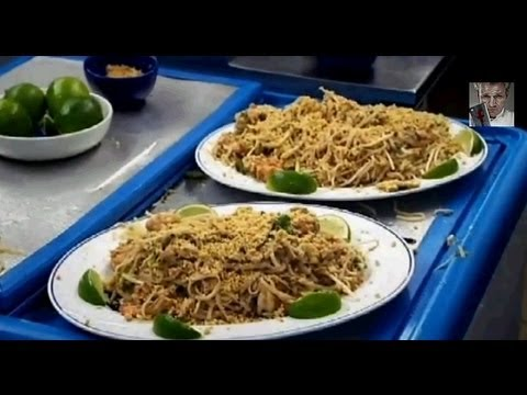 Gordon Ramsay serves his version of Pad Thai to a Thai chef only to get shut down