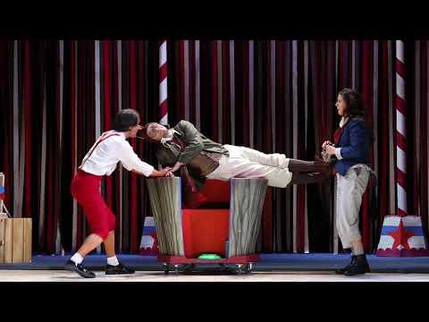 bande annonce de Pinocchio au théâtre de Paris et au théâtre des Variétés