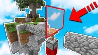 INVISIBLE WALL PISTON TROLLING (Minecraft SKYWARS) w/ LandonMC & JustVURB