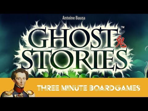 Ghost Stories in about 3 Minutes