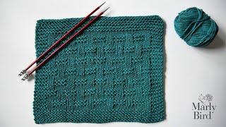 Easy Textured Knit Dishcloth || Great Stash Buster Dishcloth || Beginner Tutorial Dishcloth