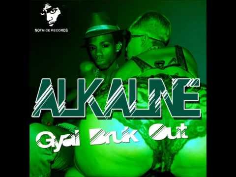 Alkaline - Gyal Bruk Out 2013 [ Notnice Records ]
