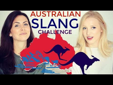 Australian vs British SLANG