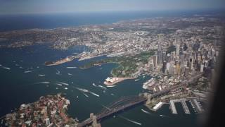 Sydney To Downtown Santiago 12 March 2017