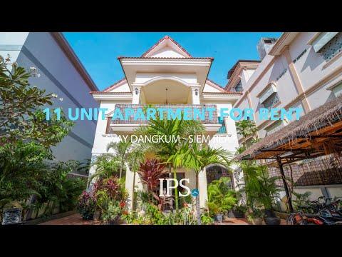 11 Bedroom Apartment Complex for Rent - Siem Reap thumbnail