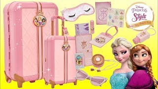 Nat & Essie Travel With Princess Style Collection Suitcase Play Set