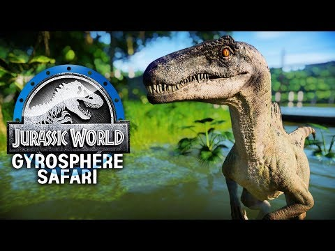 SPINORAPTOR HAS THE BEST ROAR | Gyrosphere Safari Park (Jurassic World: Evolution)