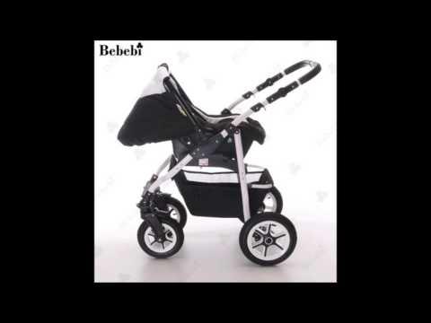 Bebebi | Modell Bellami | 3 in 1 Kombikinderwagen Set