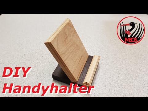 DIY Handyhalter / Handyständer bauen (1080 HD)
