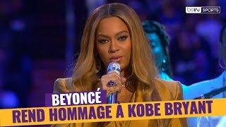 NBA - Beyoncé rend hommage à Kobe Bryant