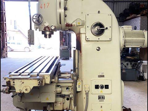 TOS FA5B-V Heavy-Duty Vertical Milling