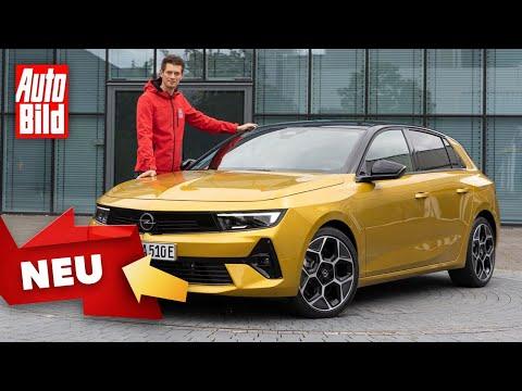Opel Astra (2021)  Erster Check im neuen Astra  Sitzprobe mit Peter R. Fischer