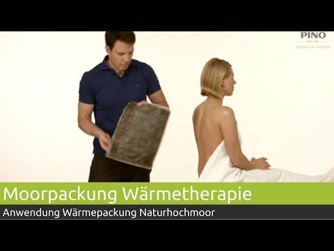 PINO Moorpackung Anwendung & Anlage   PINO Massage