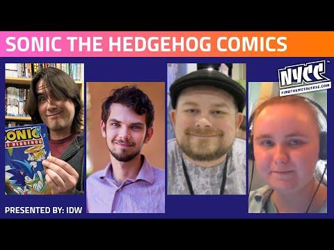 IDW Presents - Sonic the Hedgehog Comics!