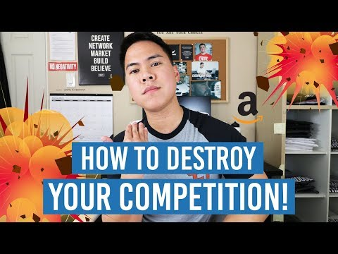 4 Ways To DESTROY Your Amazon FBA Competition And Make SALES!! GAME CHANGER!!