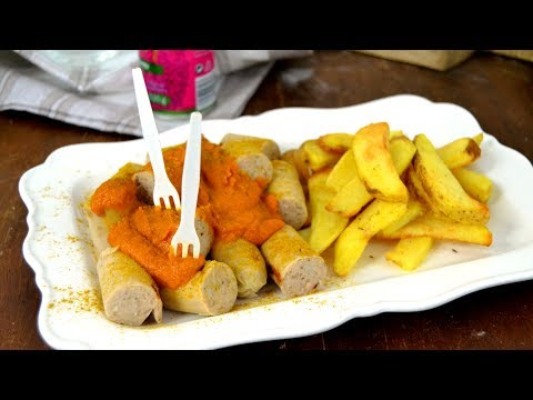 Currywurst. Receta de salchichas alemanas al curry. ¡Deliciosas!