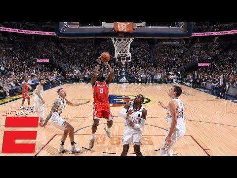 f8d07f3ef274 James Harden s big second half fuels Rockets past Nuggets
