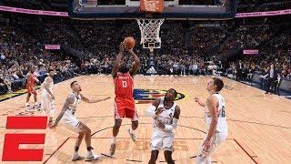 James Harden's big second half fuels Rockets past Nuggets | NBA Highlights