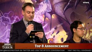 Pro Tour Dragons of Tarkir Top 8 Announcement