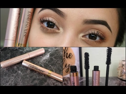 IS IT A DUPE? L'Oreal Voluminous Lash Paradise Vs. Too Faced Better Than Sex Mascara | Review & Demo