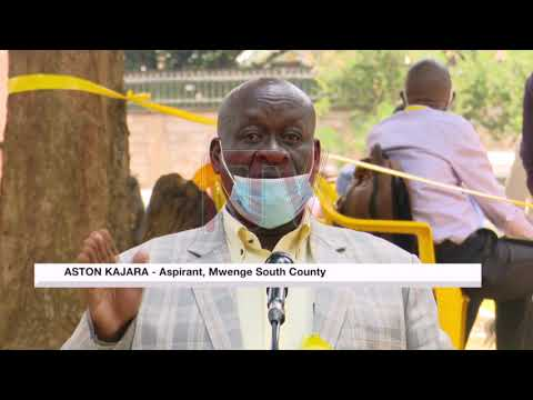 2021 ELECTIONS: NRM aspirants return nomination forms
